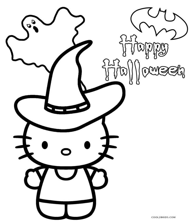 Halloween Coloring Sheets By Number