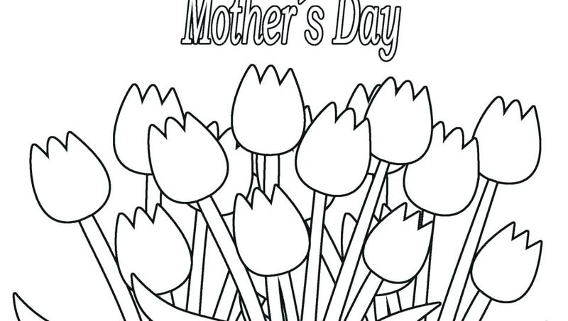 Happy Mothers Day Coloring Pages Games