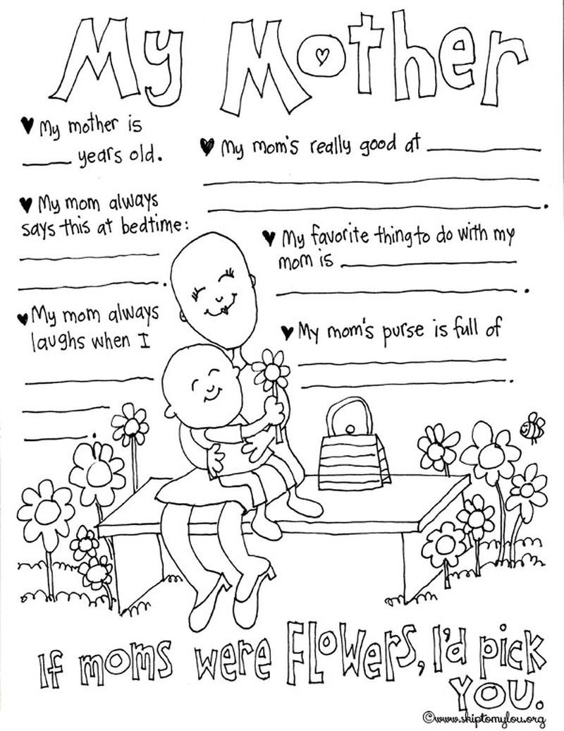 Happy Mothers Day Coloring Pages Grandma