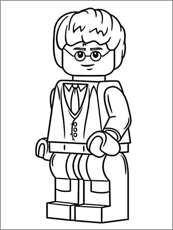 Harry Potter Coloring Pages Free Online