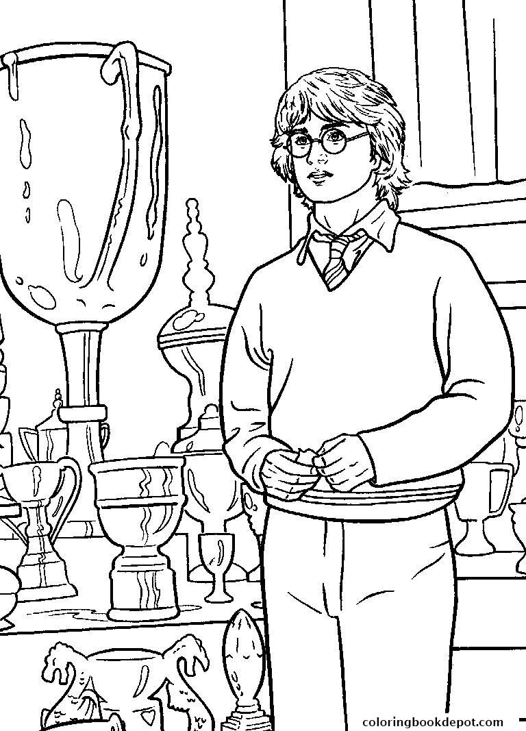 Harry Potter Coloring Pages Hufflepuff