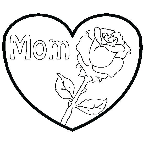 Heart Coloring Pages For Toddlers