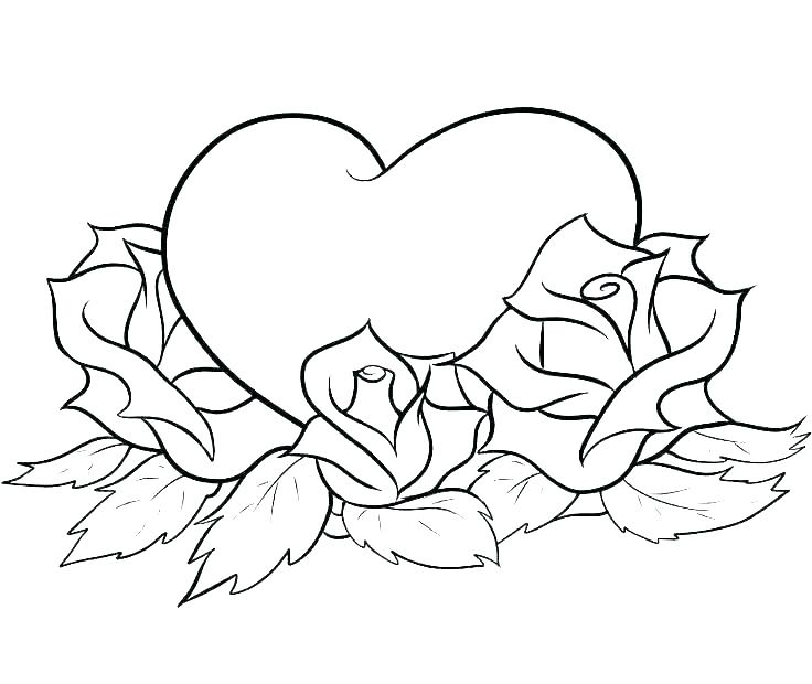 Heart Coloring Pages Mom