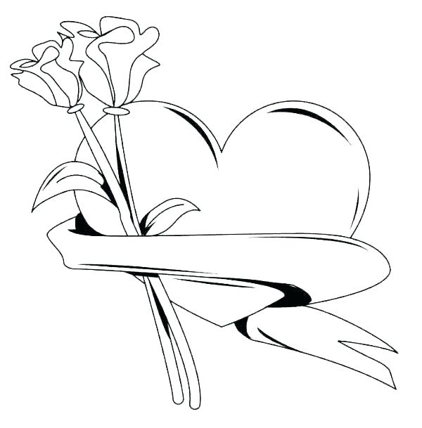 Heart Coloring Pages Small