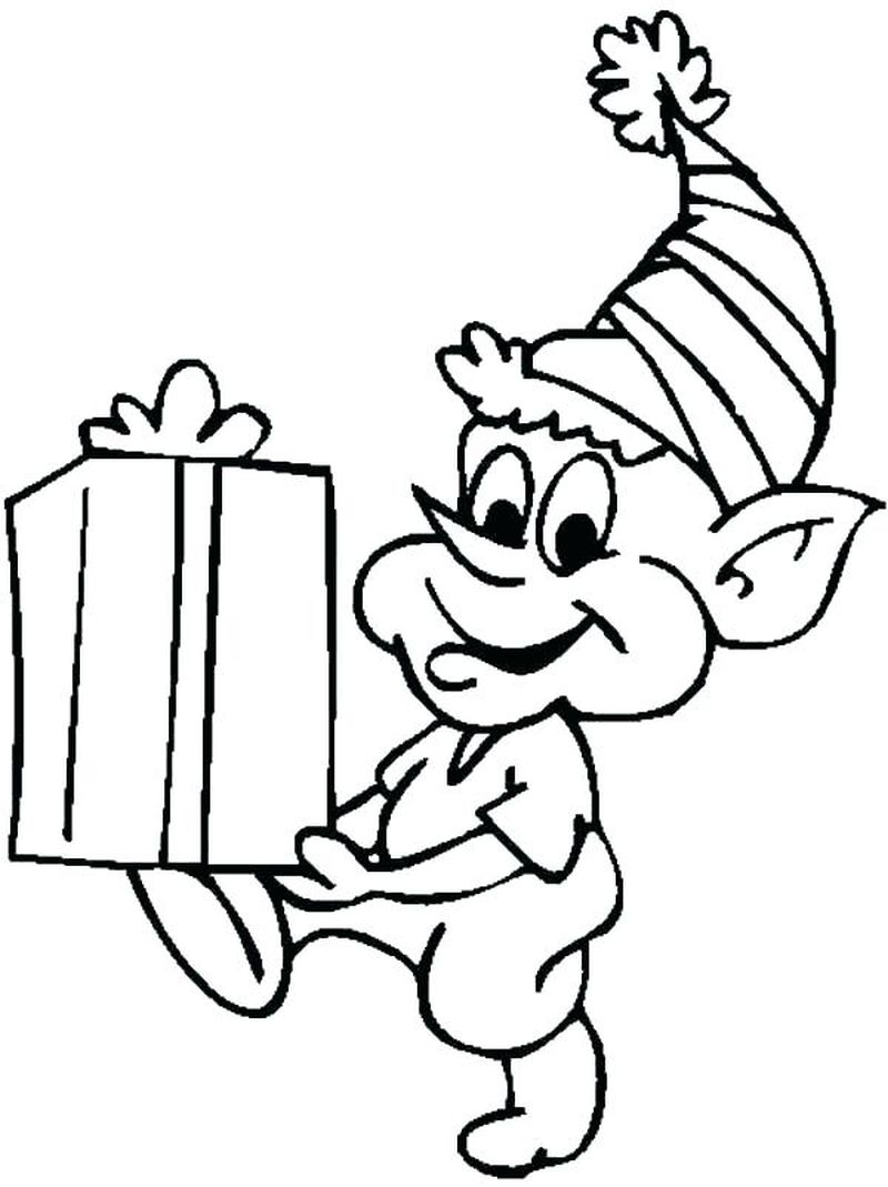 Hermey The Elf Coloring Pages