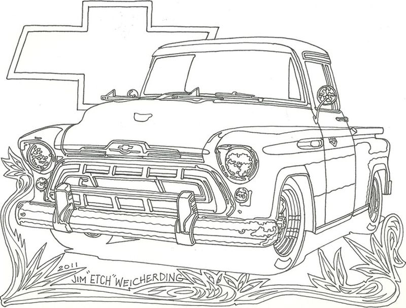 Hot Car Coloring Pages