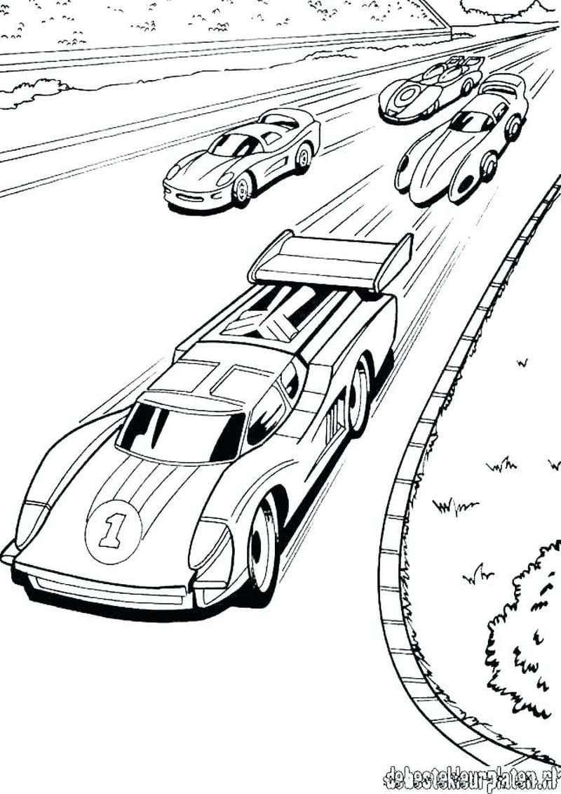 Hot Wheels Battle Force 5 Printable Coloring Pages