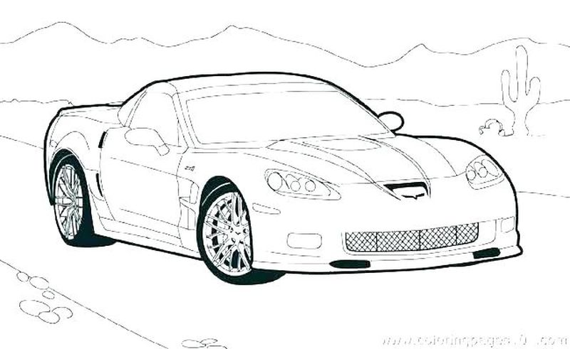 Hot Wheels Coloring Pages For Kids Free
