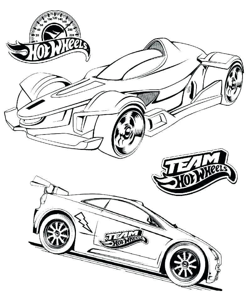 Hot Wheels Monster Jam Coloring Pages