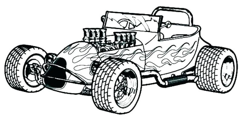 Hot Wheels Monster Trucks Coloring Pages