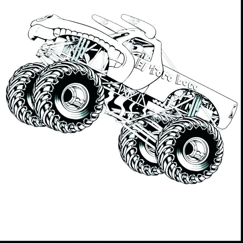 Hot Wheels Race Track Coloring Pages