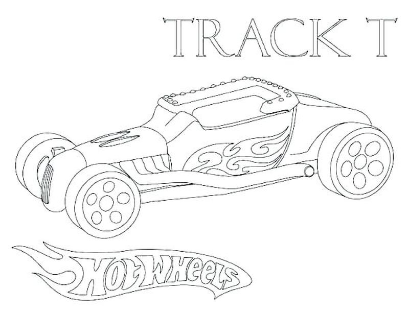 Hot Wheels Truck Coloring Pages