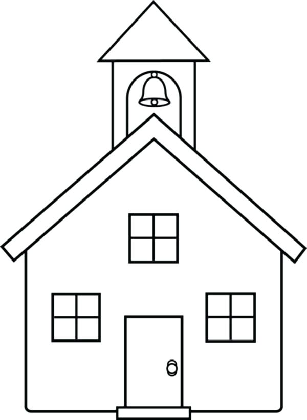House And Garden Coloring Pages