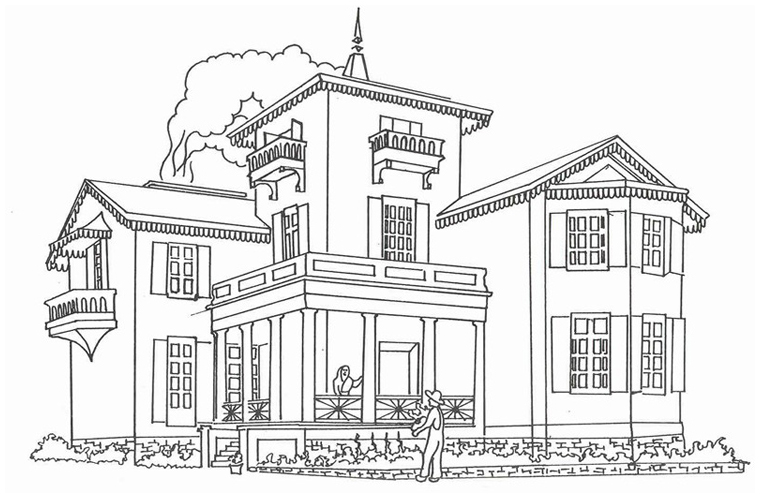 House Coloring Pages For Toddlers