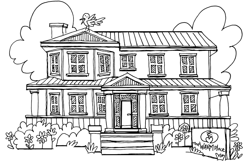 House Coloring Pages Free Printable