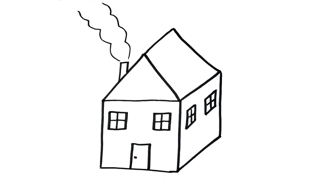 House Coloring Pages To Print