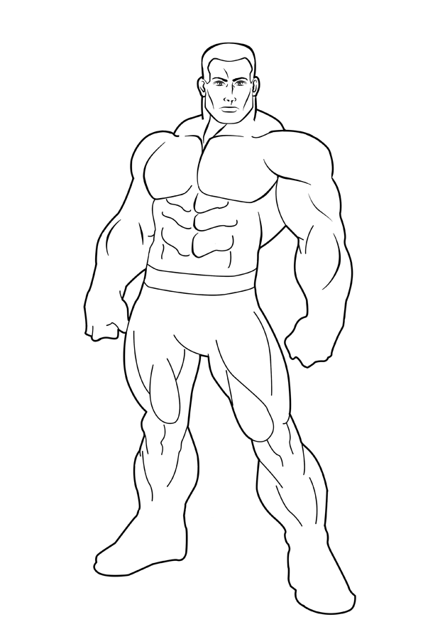 Hulk Coloring Book Pages