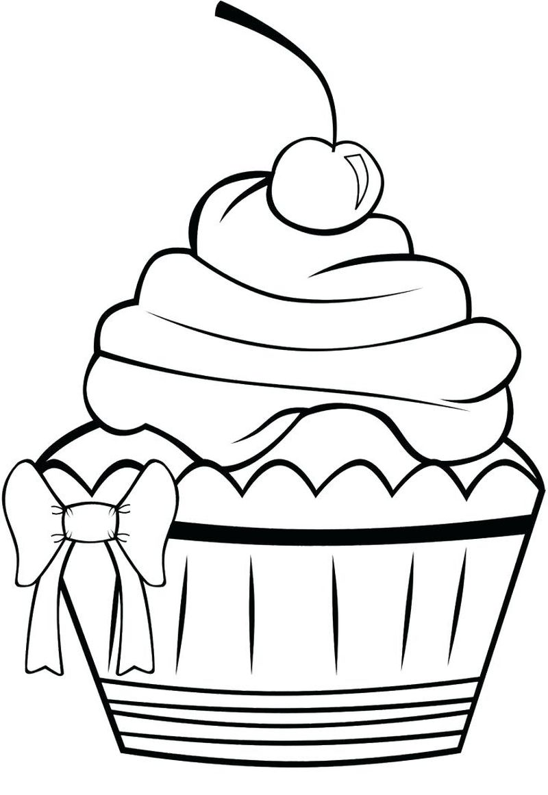 If You Give A Cat A Cupcake Coloring Pages