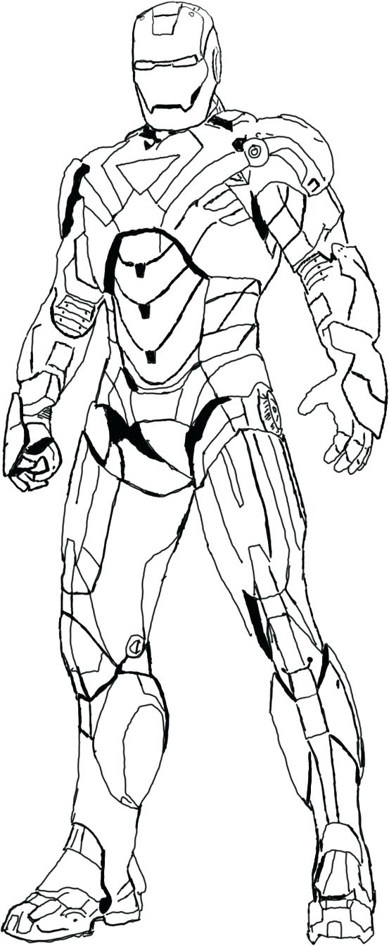 Iron Man Coloring Pages Free To Print