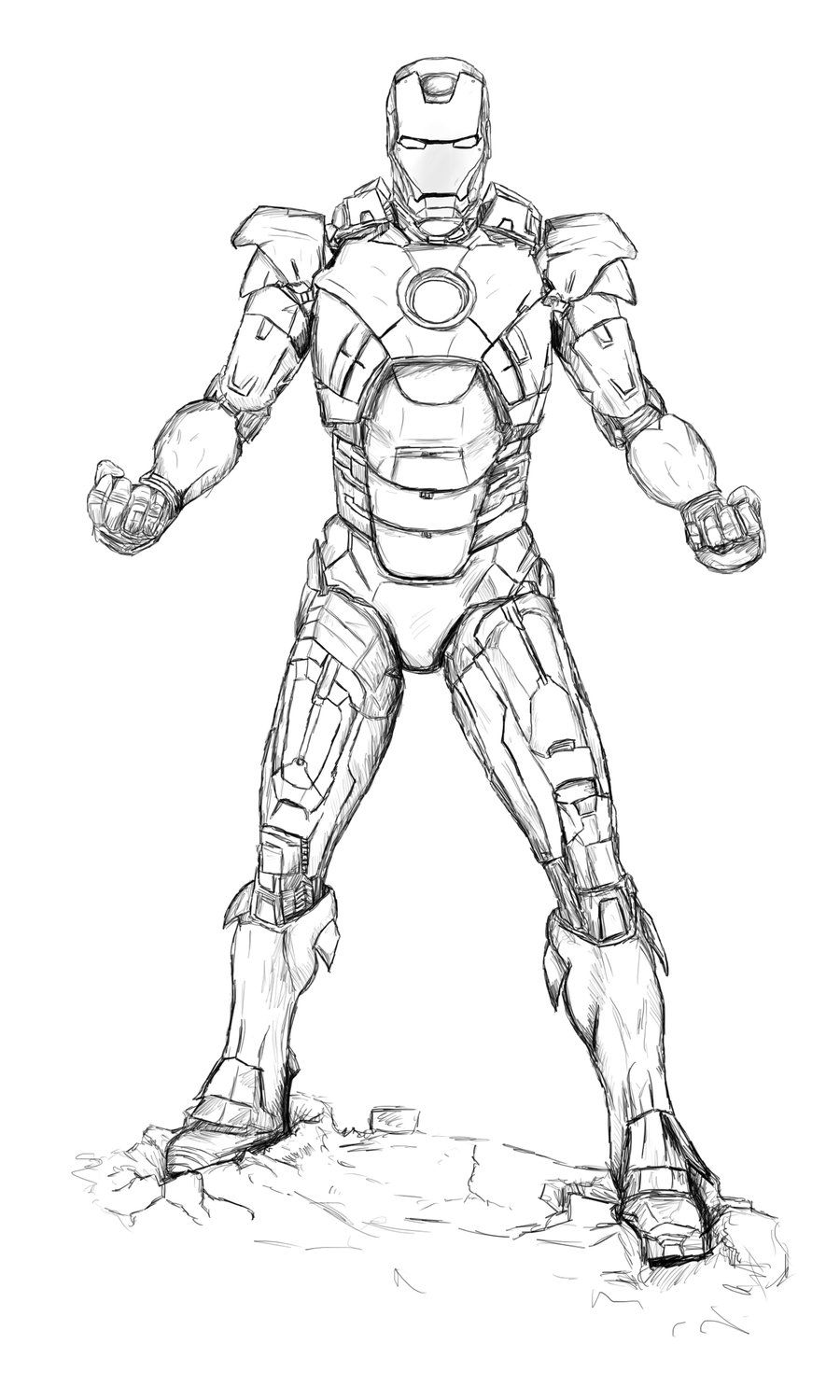 Iron Man Coloring Pages Images