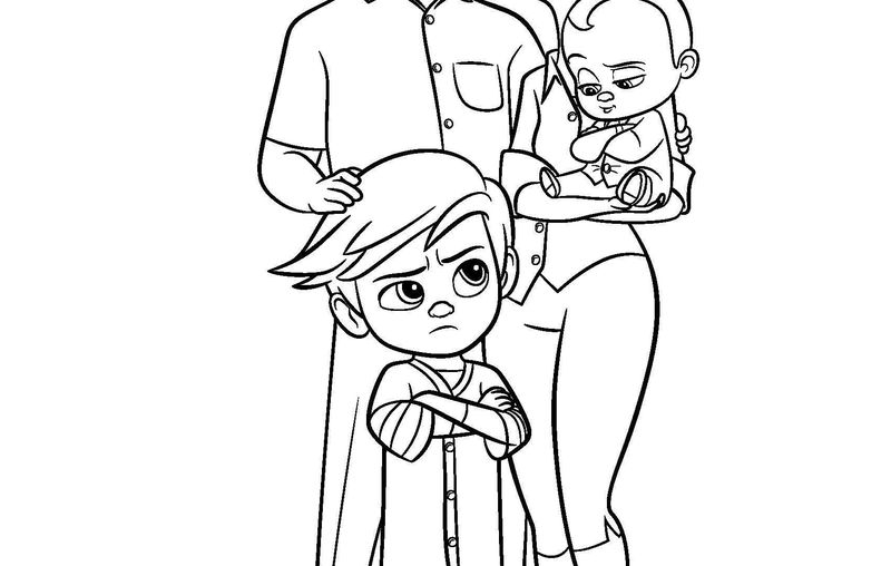 Kasey From Baby Boss Coloring Pages