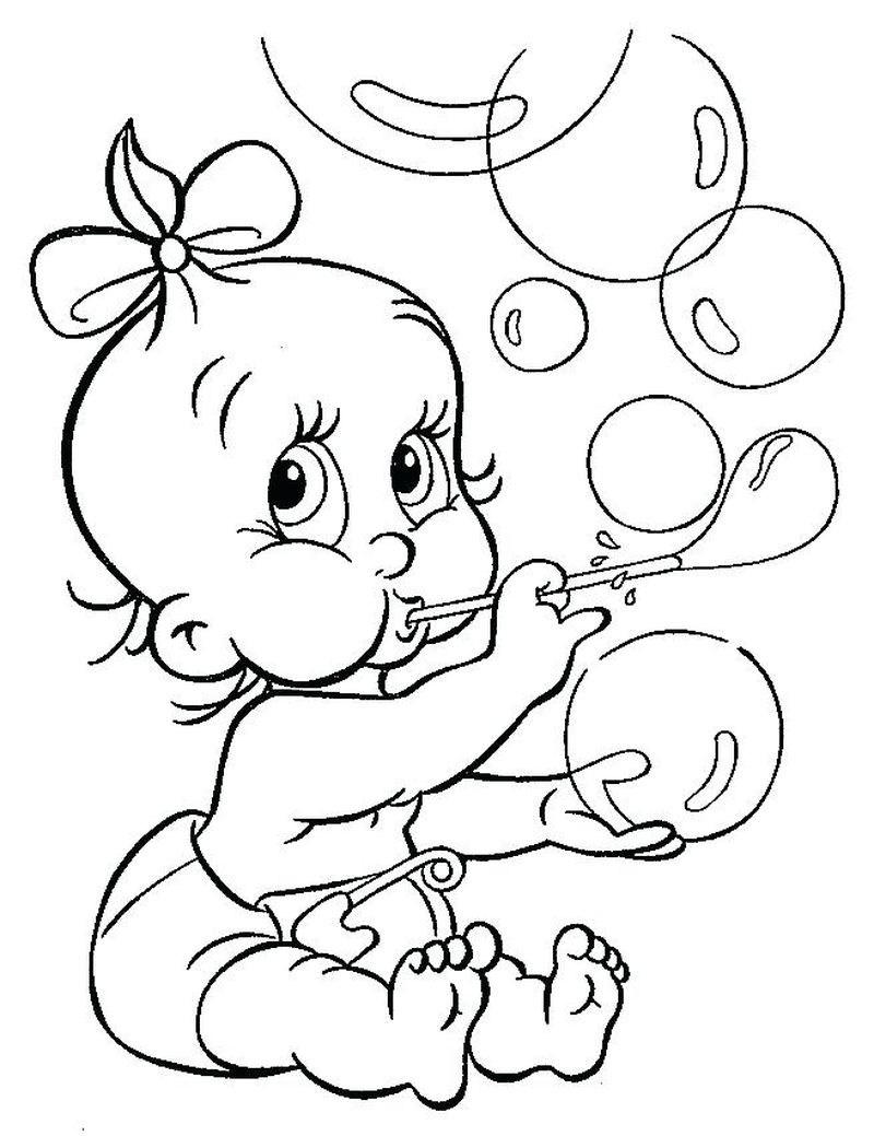 Kids Coloring Pages Boss Baby