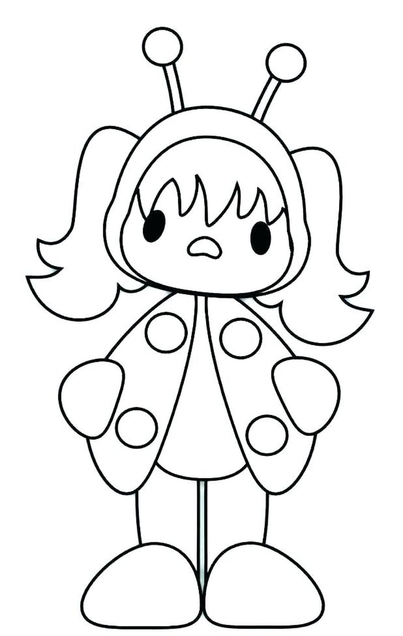 Ladybug Coloring Pages Free