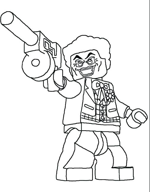 Lego Batman Colouring Pages To Print