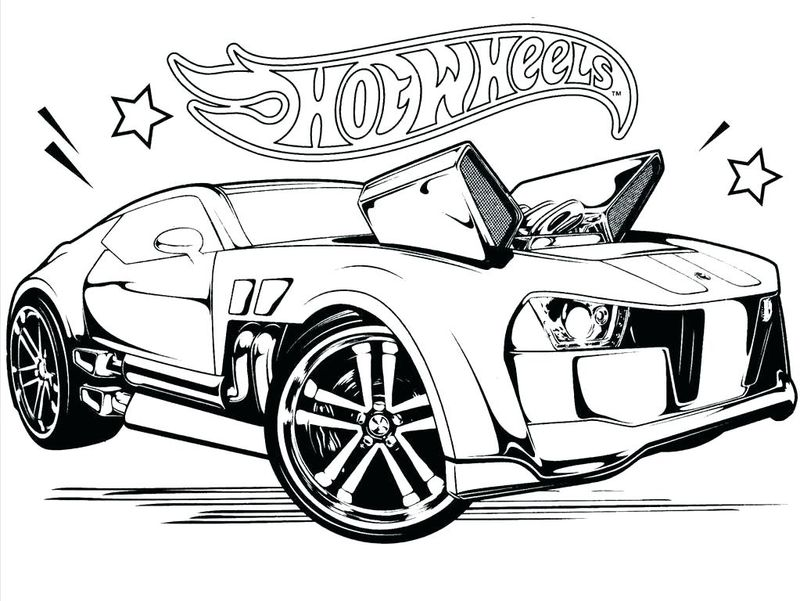 Lego Hot Wheels Coloring Pages