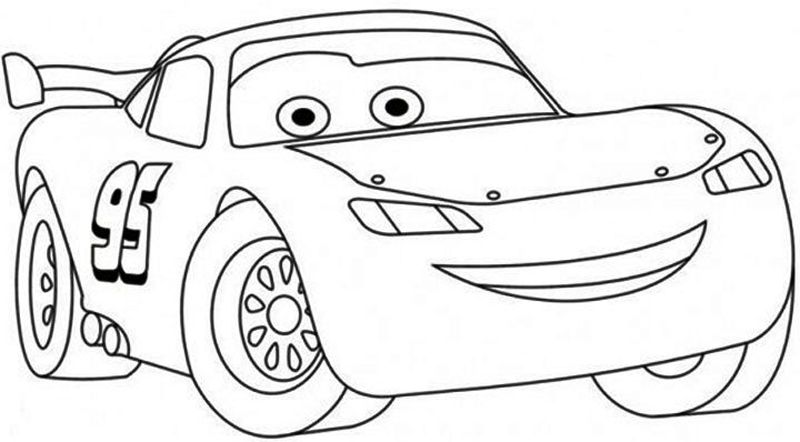 Lightning Mcqueen Coloring Pages Free Printable