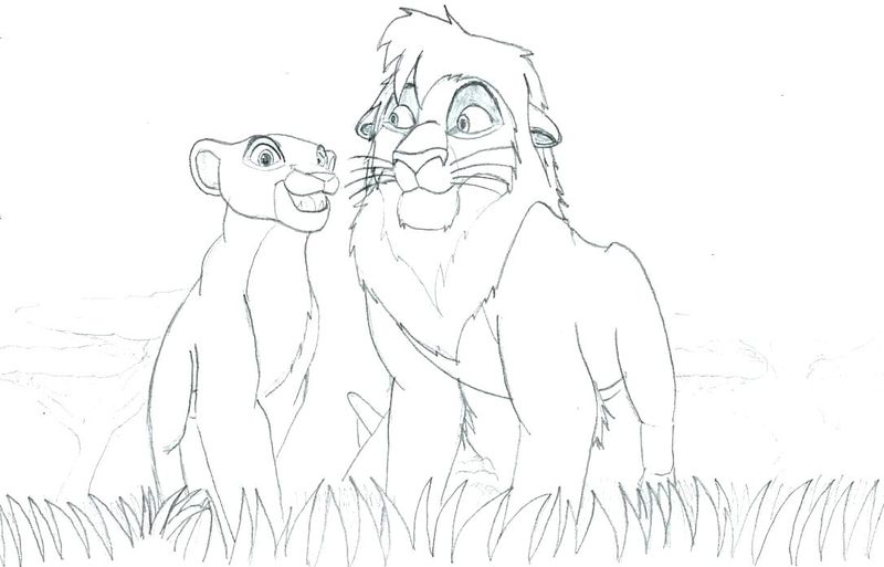 Lion King Coloring Pages Free Printable