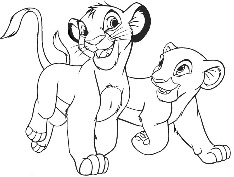 Lion King Coloring Pages Pdf
