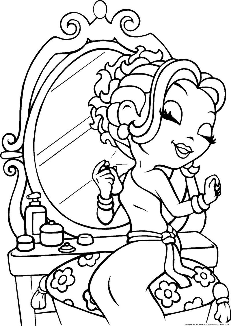 Lisa Frank Kitten Coloring Pages