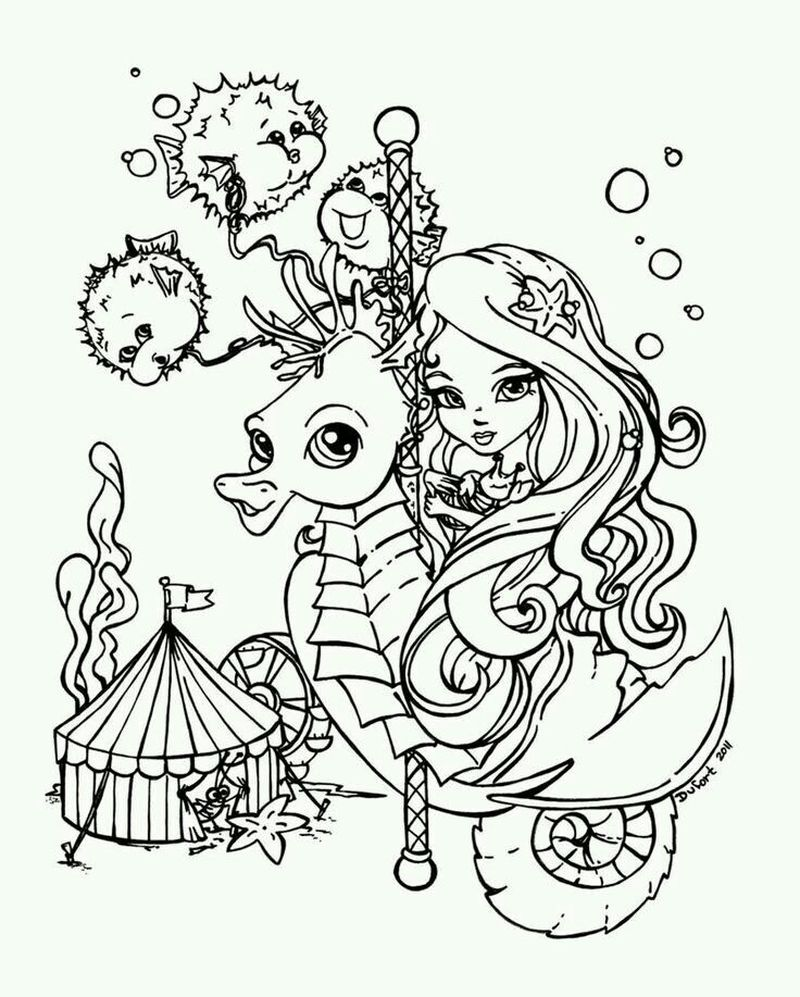 Lisa Frank Leopard Coloring Page