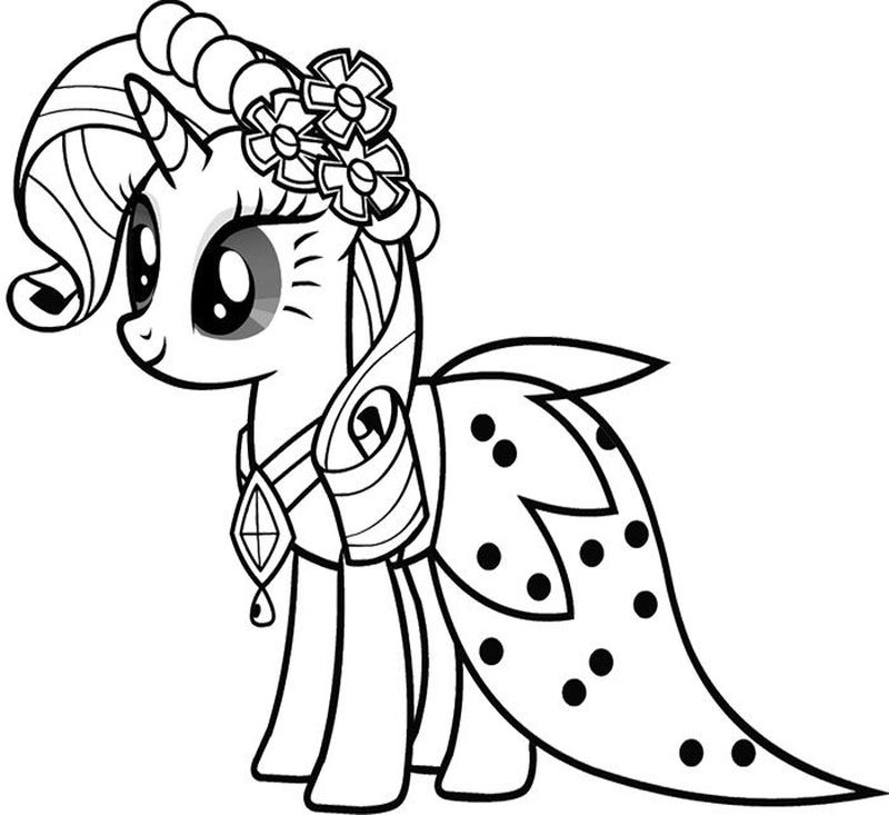 Little Ponies Coloring Pages