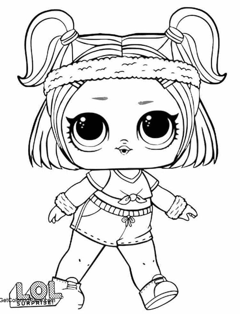 Lol Coloring Pages Baby Doll
