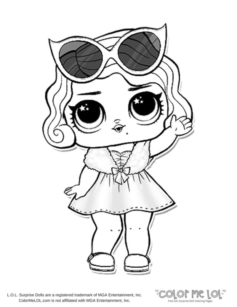Lol Coloring Pages Dolls
