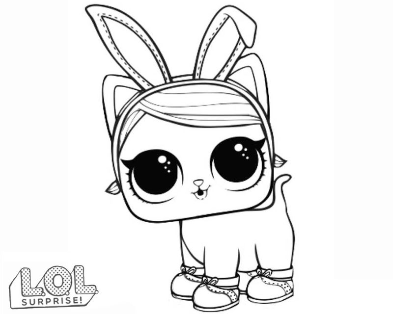 Lol Dolls And Pets Coloring Pages