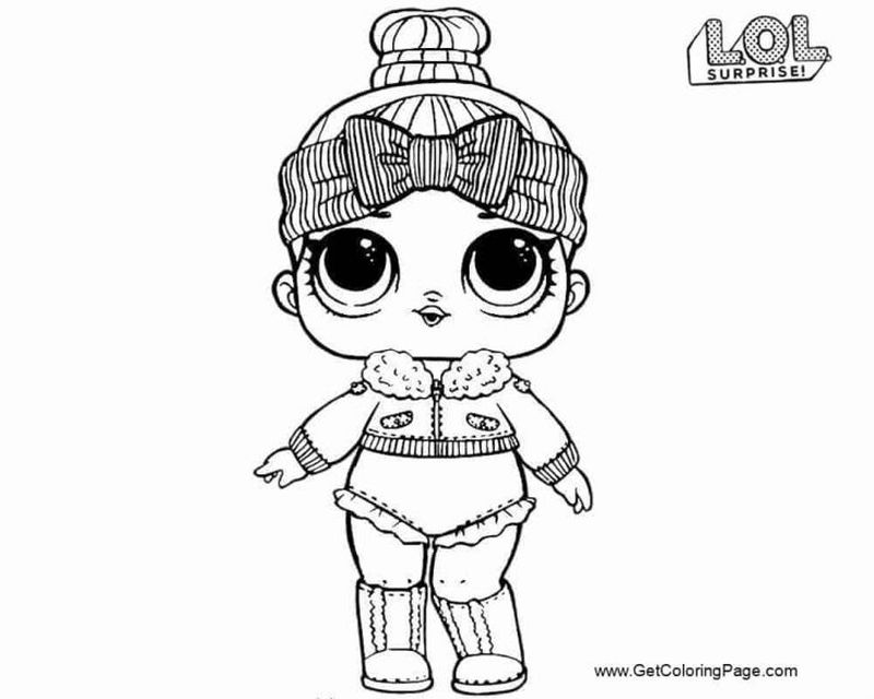 Lol Dolls Coloring Pages Angel