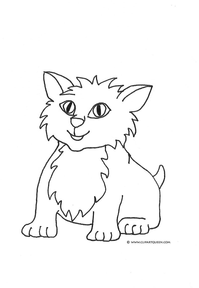 Lps Cats Coloring Pages
