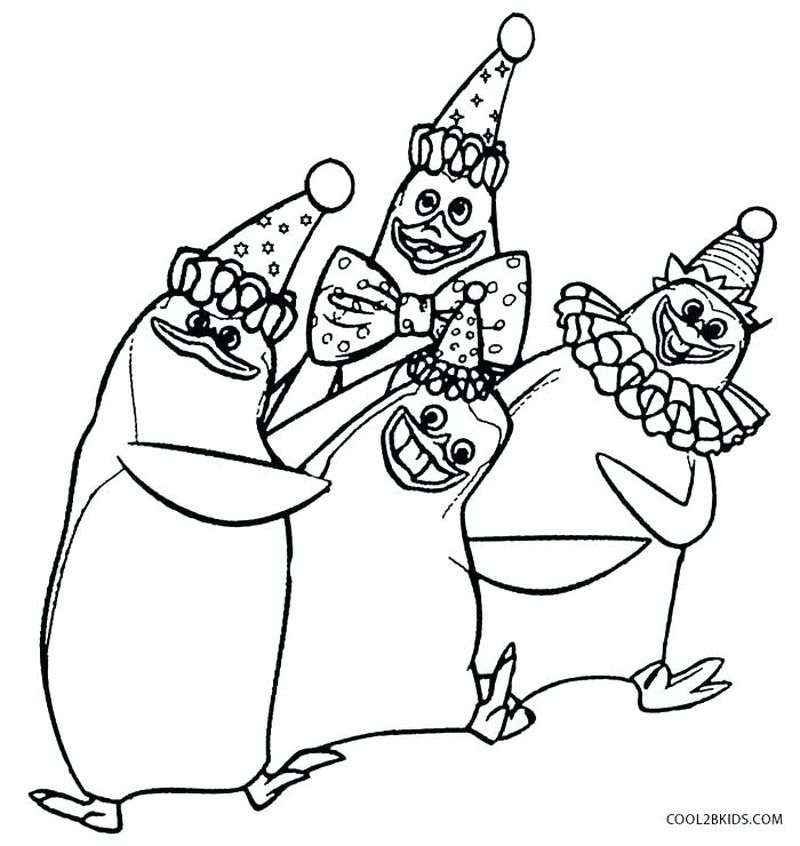 Madagascar 1 Coloring Pages