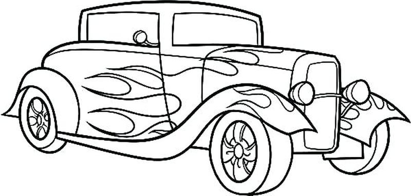 Mercedes Car Coloring Pages