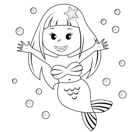 Mermaid Coloring Pages Online