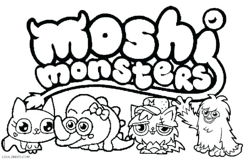 Monster Inc Coloring Pictures