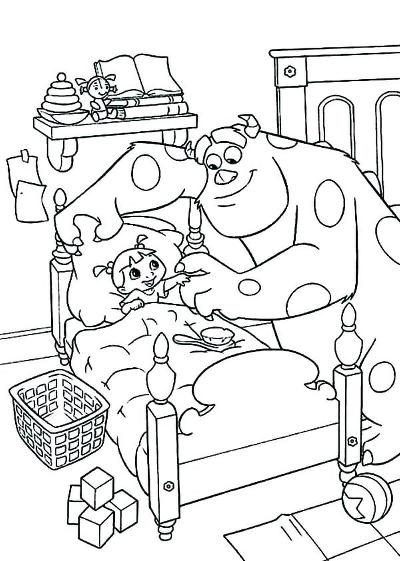 Monsters Inc Coloring Books
