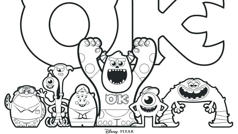 Monsters University Sulley Coloring Pages