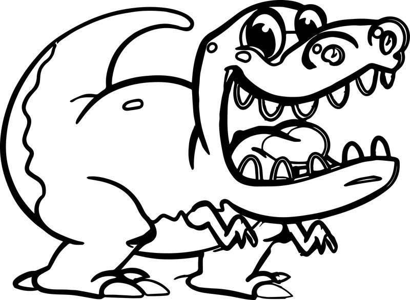 More Dinosaur Coloring Pages