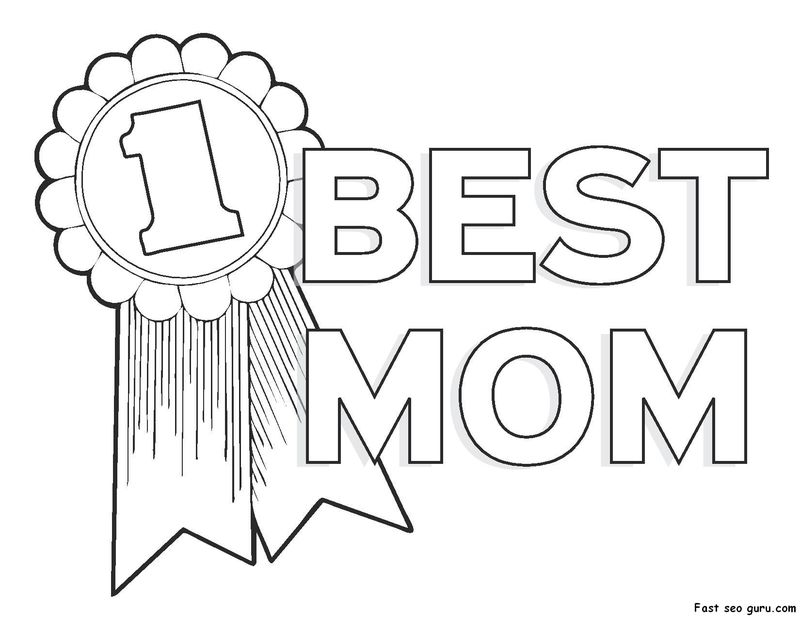 Mothers Day Coloring Page Grandma