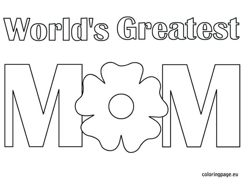 Mothers Day Coloring Pages For Church
