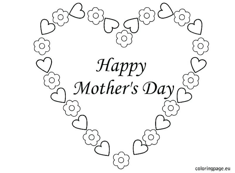 Mothers Day Coloring Pages For Grandmothers